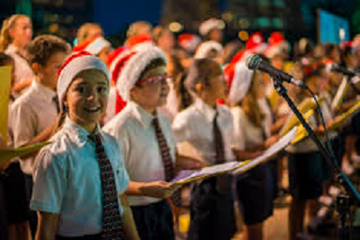 Can you record some music/carols for Luton Airport to use at Christmas?