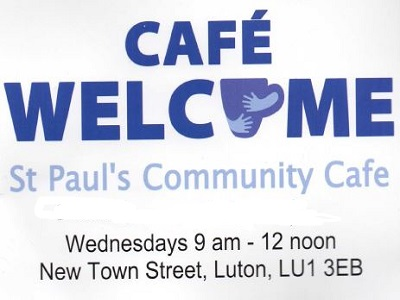 STARTING WEDNESDAY 25TH SEPTEMBER: CAFE WELCOME AT ST PAULS!