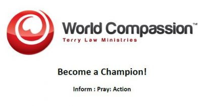 World Compassion looking for champions to help Christians and churches in hostile nations.