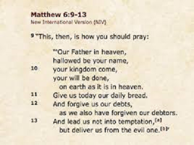 TKC – can you video yourself reading a line of the Lord's Prayer for Pentecost video?