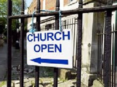 Has your church re-opened or will soon?