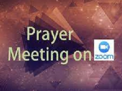 Friday Prayers on ZOOM with New Covenant Fellowship 7.30pm