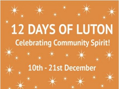 12 Days of Luton – add your event.