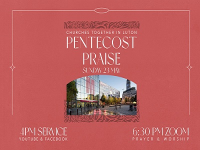 Pentecost Praise – Get Involved, record part of Acts 2 in a language other than English.